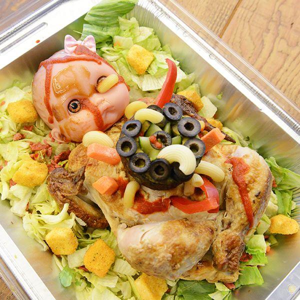 Оформление блюд на Хэллоуин: Ребенок Розмари