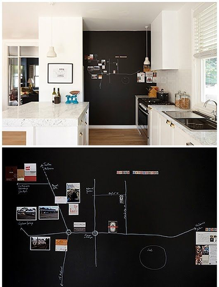 покройте подобной пленкой/фанерой/доской большой участок стены, но обязательно от пола до потолка