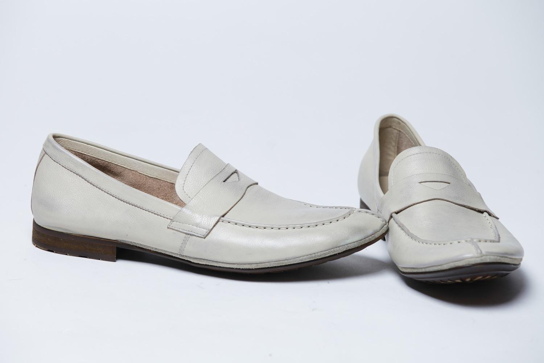 Кожаная обувь - мокасины