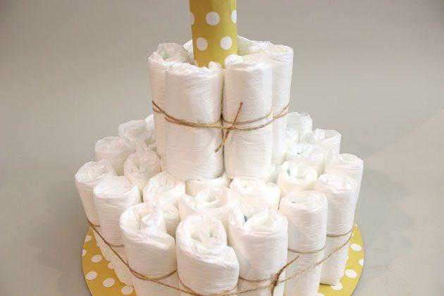 Переходим ко второму уровню торта, работаем по полной аналогии, только слоя здесь будет 2