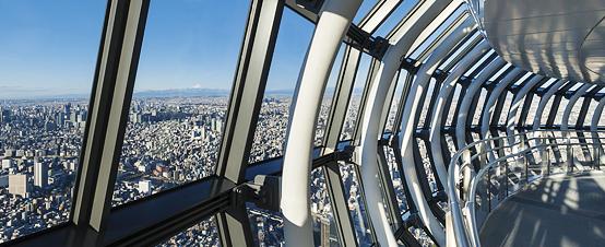 Самые страшные смотровые площадки мира: «Небесное дерево» в Токио, Япония