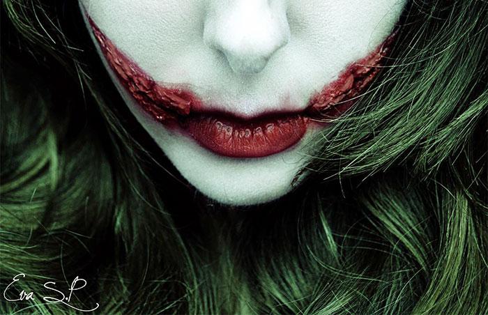 макияж губ (с картинками) на Хэллоуин: гуимплен
