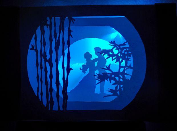 Как сделать «книжный туннель» - ночник-инсталляцию для детской комнаты