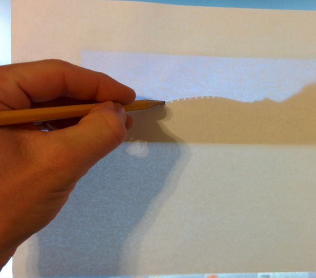 можно увеличить картинку на экране компьютера до масштаба 1:1, а затем приложить к экрану бумагу и обвести контур карандашом