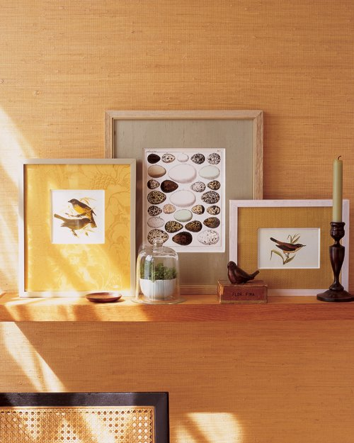обрамления из ткани для современных картин