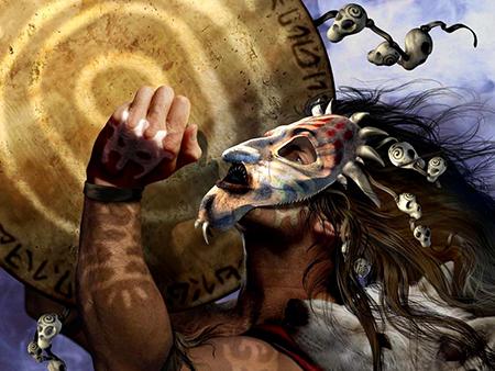 Еще с древних времен шаманы лечили людей при помощи танца