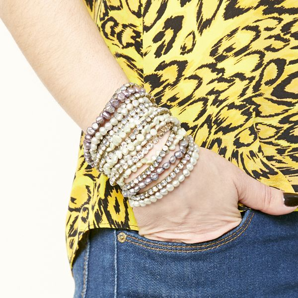 браслеты в несколько рядов, как носить: похожие и одинаковые браслеты