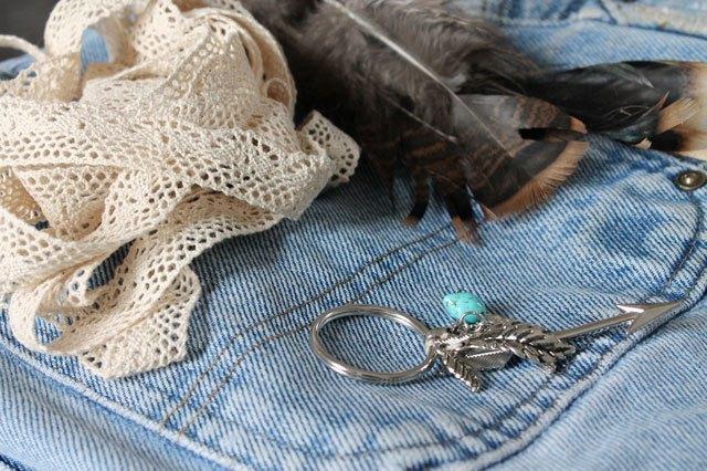 Как модно украсить весенне-осенние ботильоны и полусапожки джинсовой тканью - полусапожки или ботинки, исходные материалы