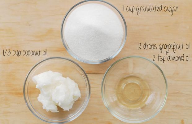 ингредиенты грейпфрутово-сахарного скраба