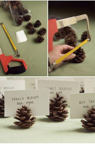 Шишки-держатели для карточек