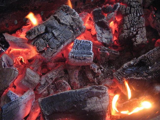 древесный пепел