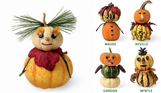 Подвиньтесь, фонари из тыкв, теперь модно трансформировать классический атрибут на Хэллоуин в замечательных забавных персонажей