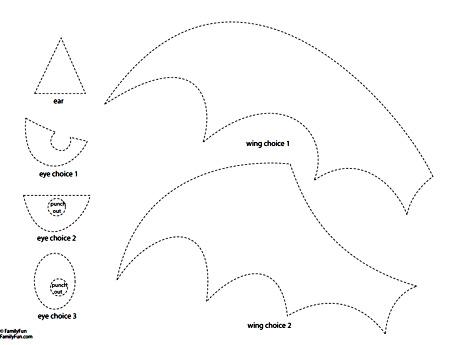 по указанной выше ссылке на трафарет можно найти 2 типа крыльев, - а так же стиль глаз