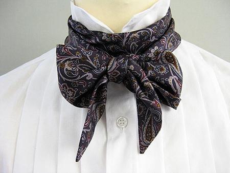 Как завязать викторианский «галстук»-бант: мужской и женский варианты