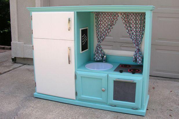 Добавьте заключительные штрихи: готовая детская кухня - развлекательные комплексы для детей своими руками