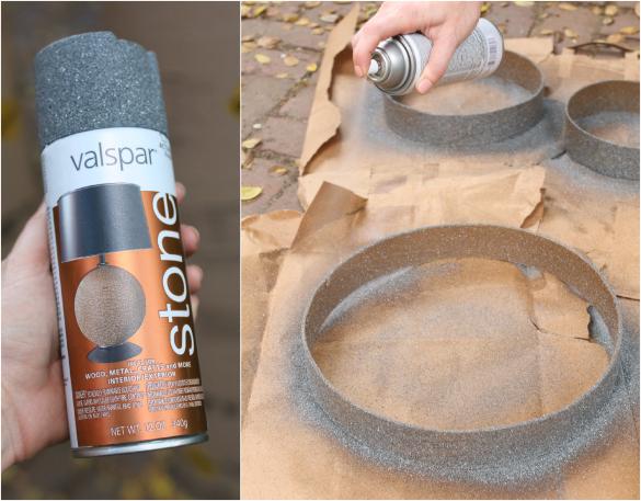 Резина высохла – сверху на нее кладем водостойкую краску в 3-4 ровных слоя