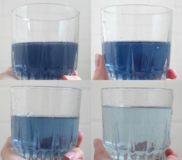 вода после первого полоскания и последующих