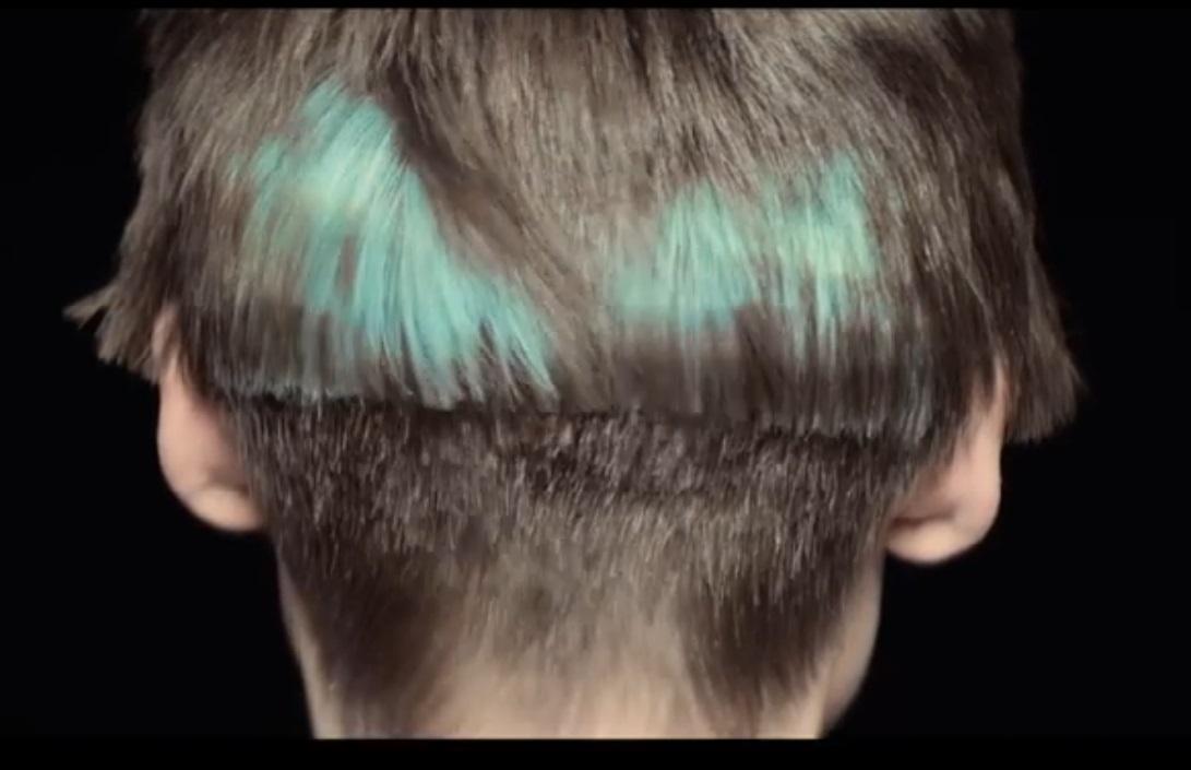 Лучше всего смотрятся пикселированные фрагменты на коротких прямых волосах