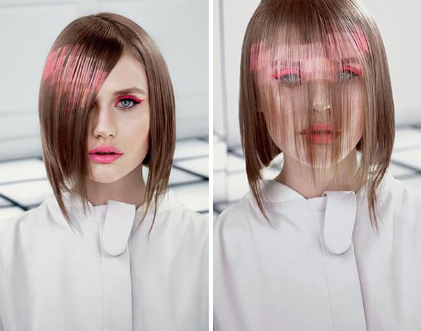 """новейший тренд весны 2015 в окрашивании волос """"Pixelated Hair"""""""