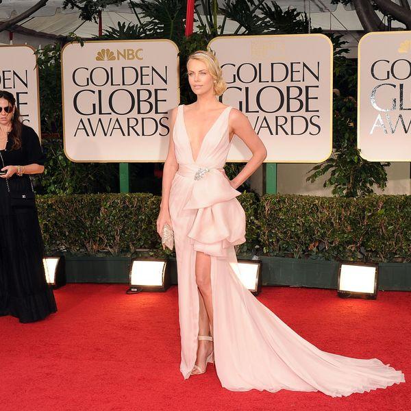 выбрать верх платья по типу фигуры: очень глубокий вырез «V» (голый «V»)