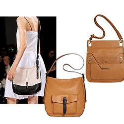 Осовременные кожаные портфели с ремнем через плечо: мода на сумки весна-лето 2014