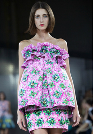 мода весна 2014: платья Бэби-долл