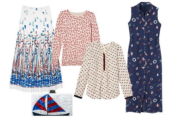 мода весны 2014: морские мотивы