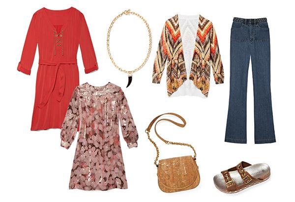 мода весна 2014: стиль 70-х