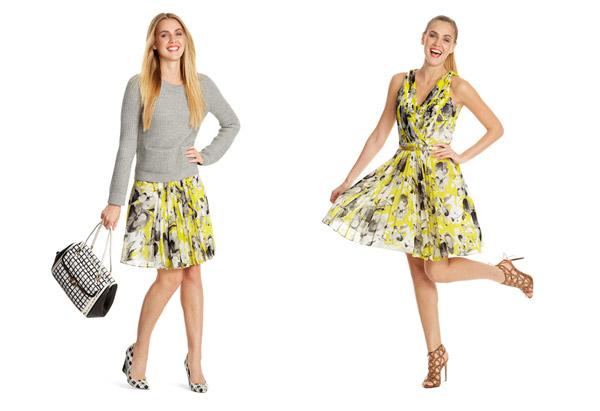 мода весна 2014: плиссировка, мягкие линии