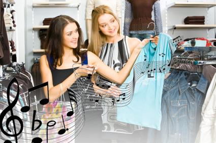 как музыка влияет на покупателей