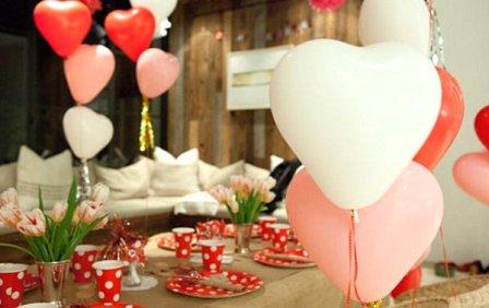 Как украсить дом ко Дню святого Валентина