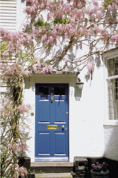 Входная дверь - привлекательный образ