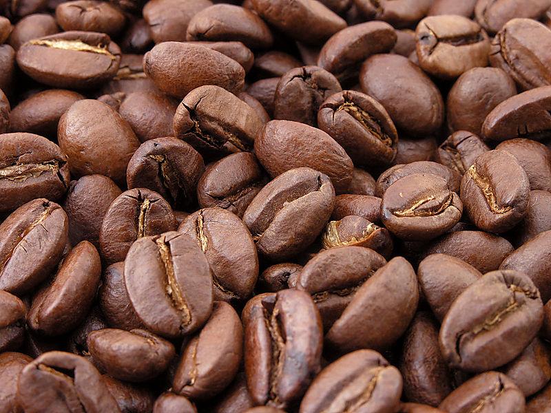 поджаренные зерна кофе