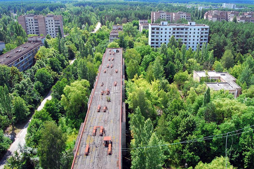 Припять – опасная зона, город-призрак, Украина.