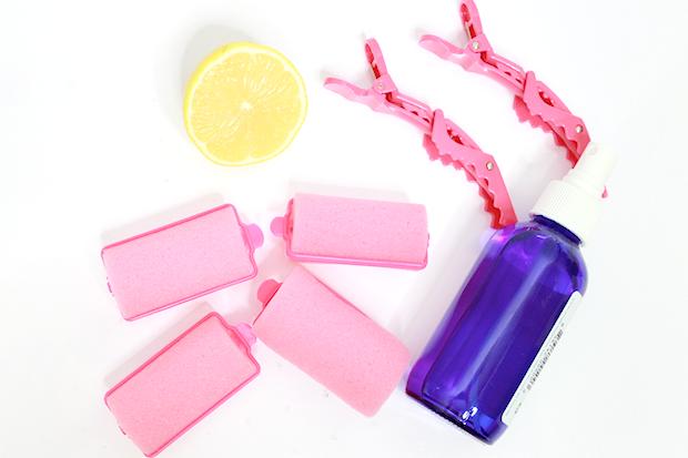 Как сделать долгоиграющую завивку при помощи лимона