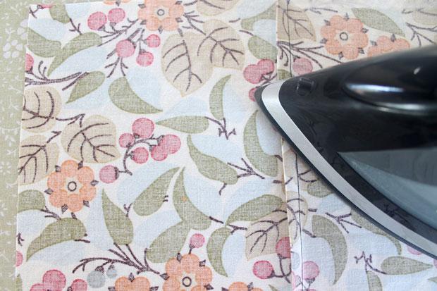 обработка швов при шитье: французская техника - прогладьте шов, прижав его на одну сторону