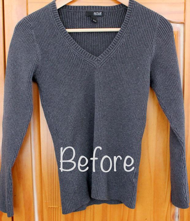 свитер по размеру на верх платья