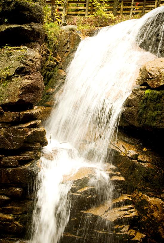 снимок с водопадом