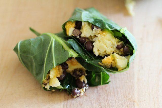 Как выглядит Топ-10 рецептов самых здоровых (и вкусных) завтраков: Бурито для диеты Аткинса («низкоуглеводной» или «лоу-карб»)