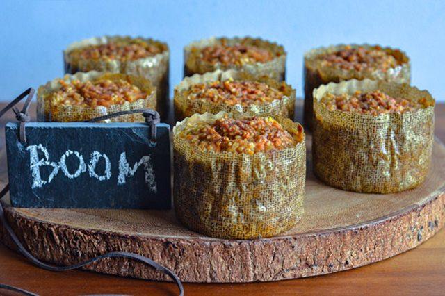 Как выглядит Топ-10 рецептов самых здоровых (и вкусных) завтраков: Мини-капкейки из сладкого картофеля и овсянки