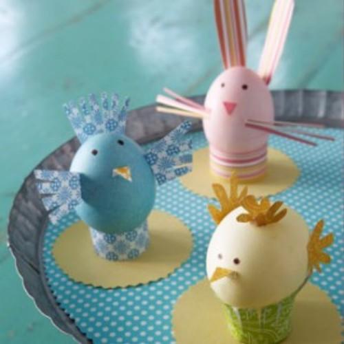Как выполнять пасхальные поделки из яичной скорлупы