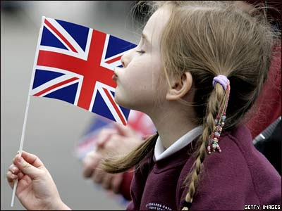 У меня на столе поселился британский флаг.  6. Вторник, 07 апреля 2009.