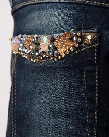 Как превратить обычные джинсы в джинсы для клубной вечеринки