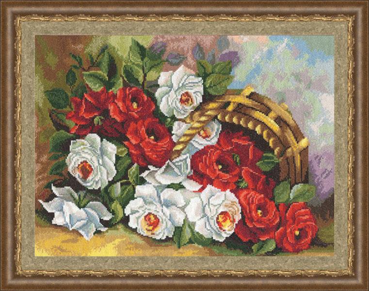 Вышивка крестом ЛЦ-031 Садовые розы