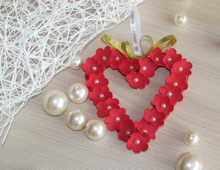Как своими руками сделать валентинку из фоамирана
