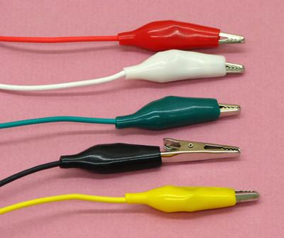 двусторонние аллигаторы с проводами