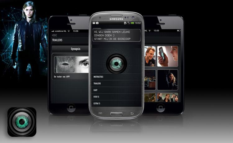 фильмы осени 2013: «Андроид» (App), интерактивное приложение для просмотра фильма