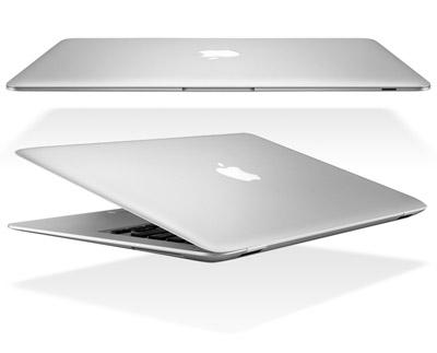 Macbook Air в закрытов виде