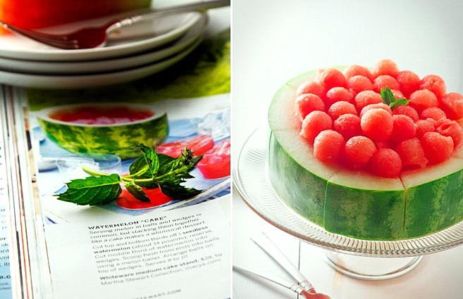 Как сделать оригинальный торт из арбуза для летней вечеринки