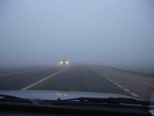 Как управлять автомобилем в тумане
